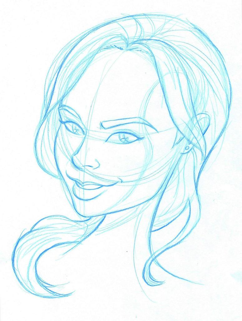 Head Sketch by gelipe