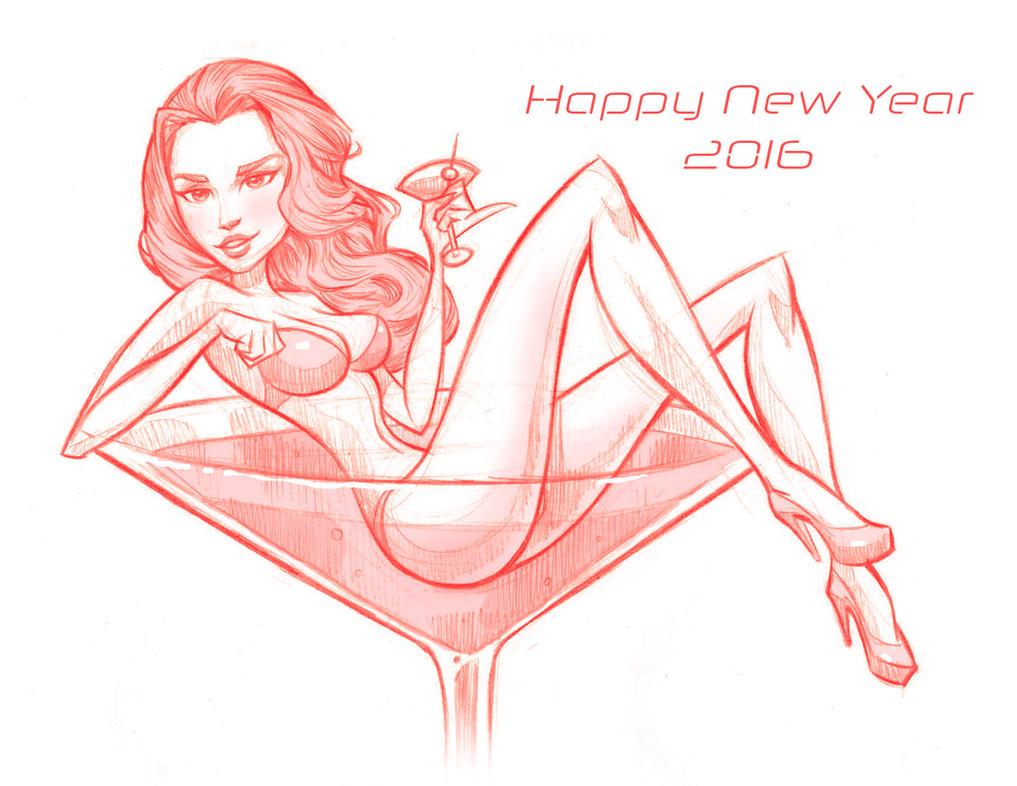 Happy New Year 2016 by gelipe