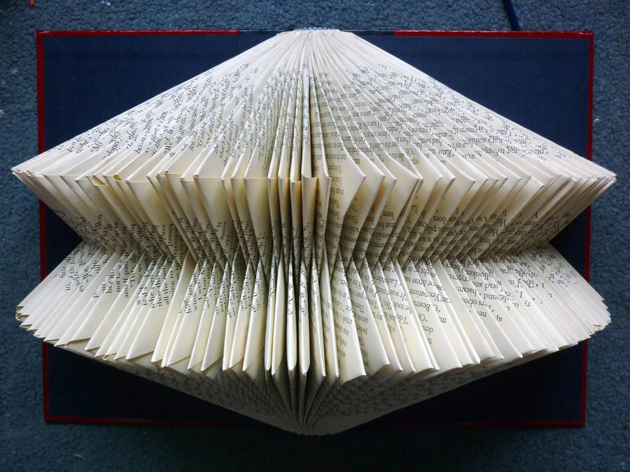 Folded Book: Rebecca by FoldedBookshop