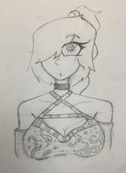 Random Casey Sketch by TanksandTurtles