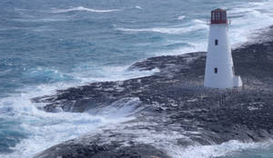 light house at the bahamas by BlueFlamedButterfly