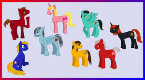 My Little RvB Ponies by Farore769