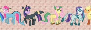 Halloween Ponies by Farore769