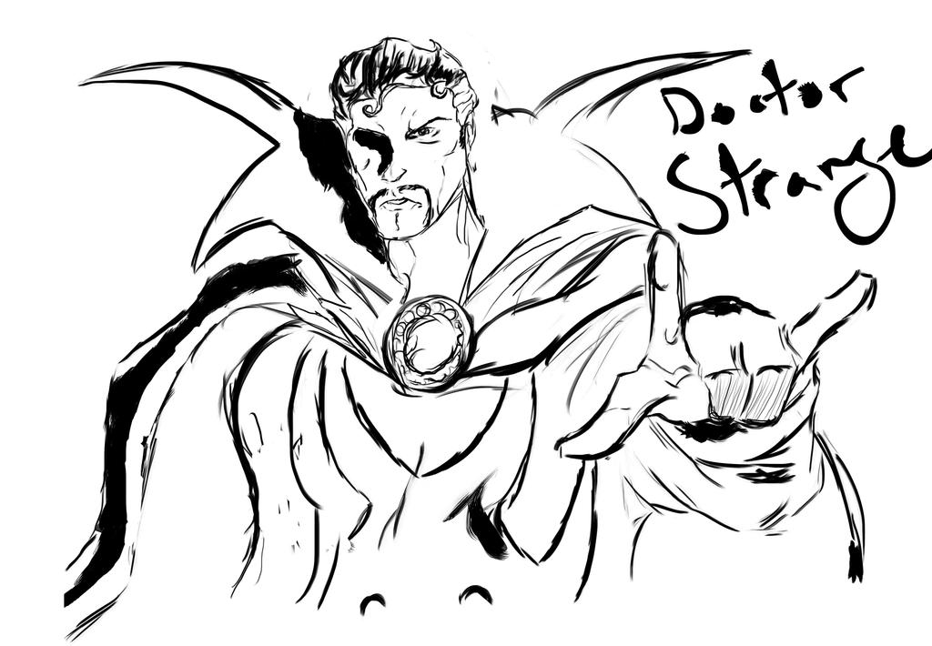 Doctor Strange by DoctorVan