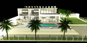 GTLHouse NightRendering  10