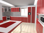 Red Kitchen SML1