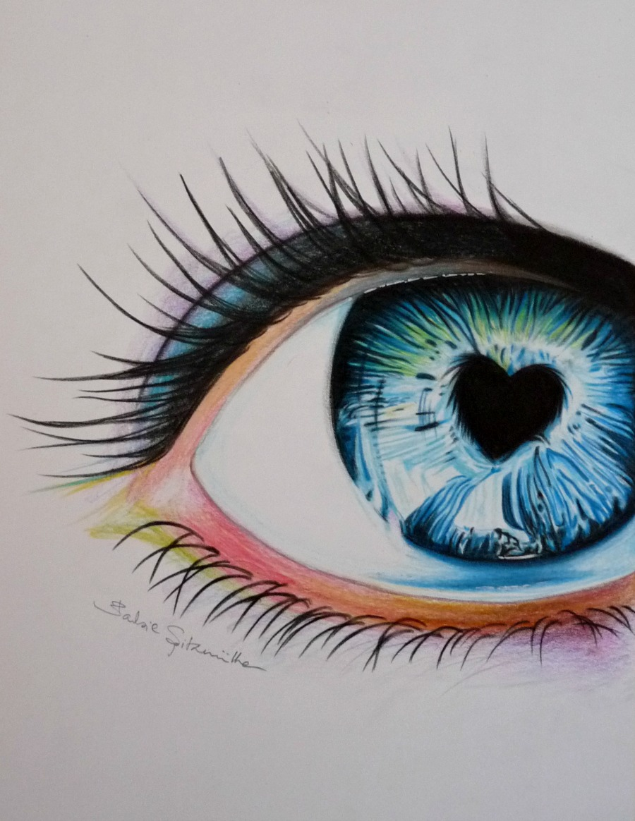 ابدآآآآآآآآآآآآآآع  القلم colored_pencil_eye_d
