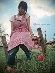 Me,Rose,N Strawberry by aNdikapatRya