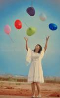 Flying n Flying My Baloon