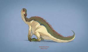 Dinovember #2 - Rhabdodon priscus