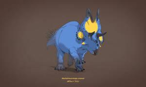 Dinovember #4 - Machairoceratops cronusi