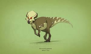 Dinovember #7 - Microceratus gobiensis