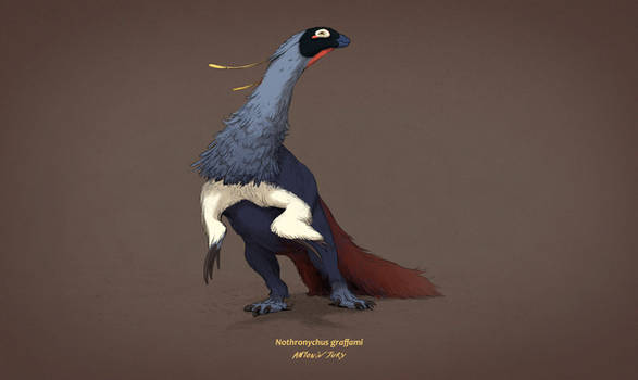 Dinovember #8 - Nothronychus graffami