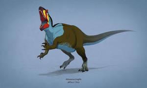 Dinovember #9 - Allosaurus fragilis