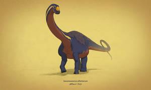 Dinovember #10 - Savannasaurus elliottorum
