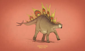 Dinovember #15 - Stegosaurus stenops