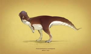 Dinovember #16 - Pachycephalosaurus wyomingensis