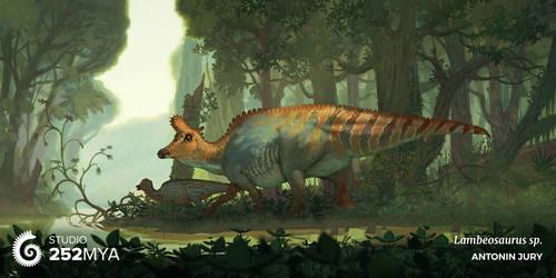 Studio 252MYA - Lambeosaurus lambei by AntoninJury