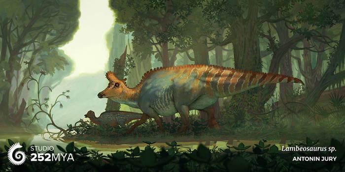 Studio 252MYA - Lambeosaurus lambei