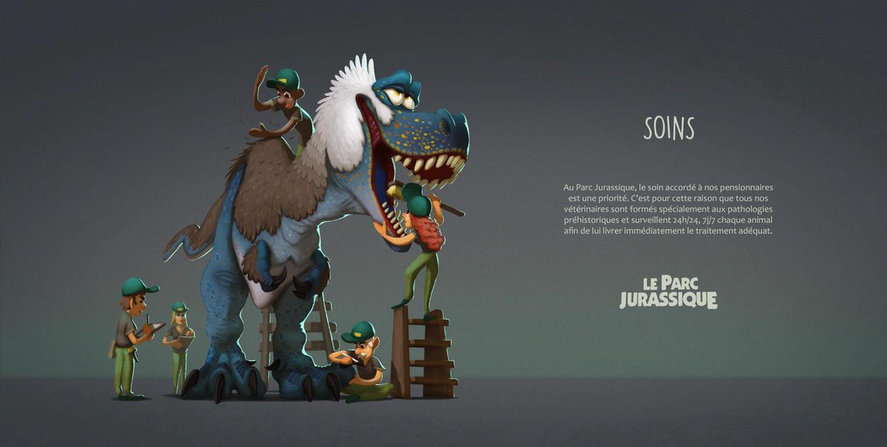 Dinosaurs Healthcare - Le Parc Jurassique by AntoninJury