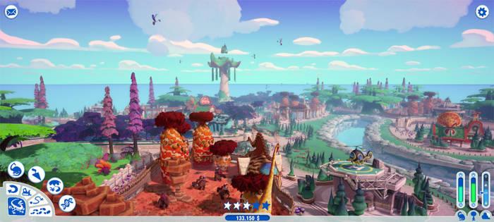 Le Parc Jurassique - Gameplay
