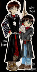 _DH SPOILER_ Albus and James by Rusneko