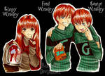 _Ginny, Fred and George_