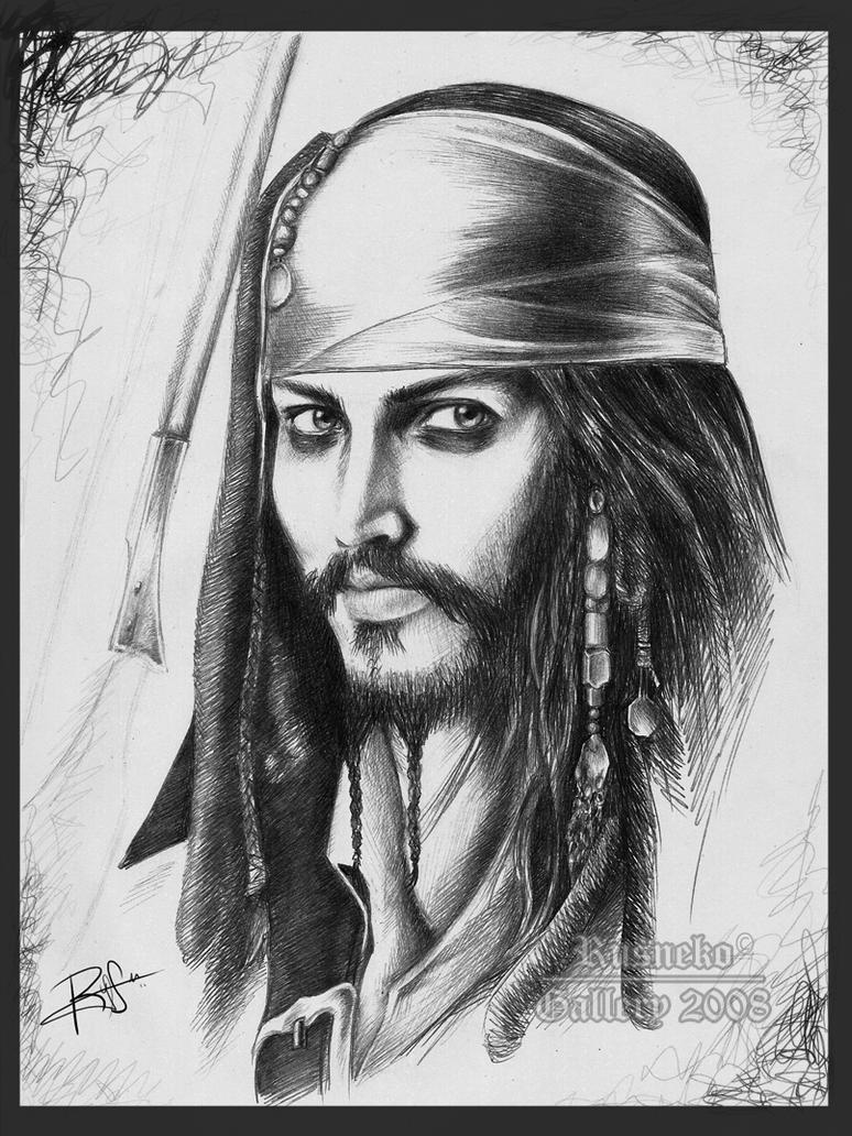 Jack Sparrow by Rusneko