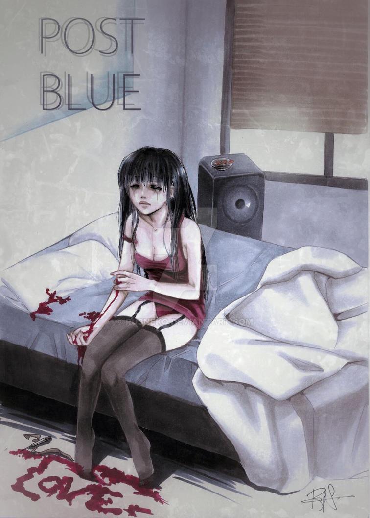 Post Blue. by Rusneko