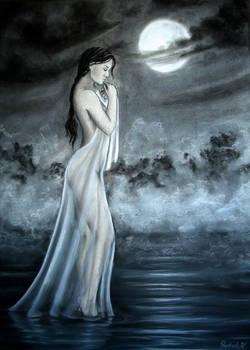 Mondnacht am See