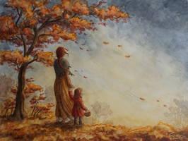 Herbstwind by RaphaelaArt
