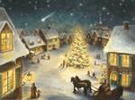 Weihnachten Im Dorf Adventskalender by RaphaelaArt