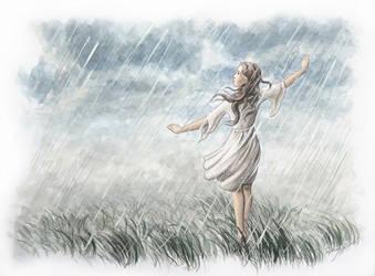 Tanz Im Regen by RaphaelaArt