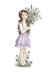 Blumenmaedchen-raphaela-berendt by RaphaelaArt
