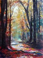Woods by Zenthylle