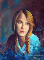 Blue by Zenthylle