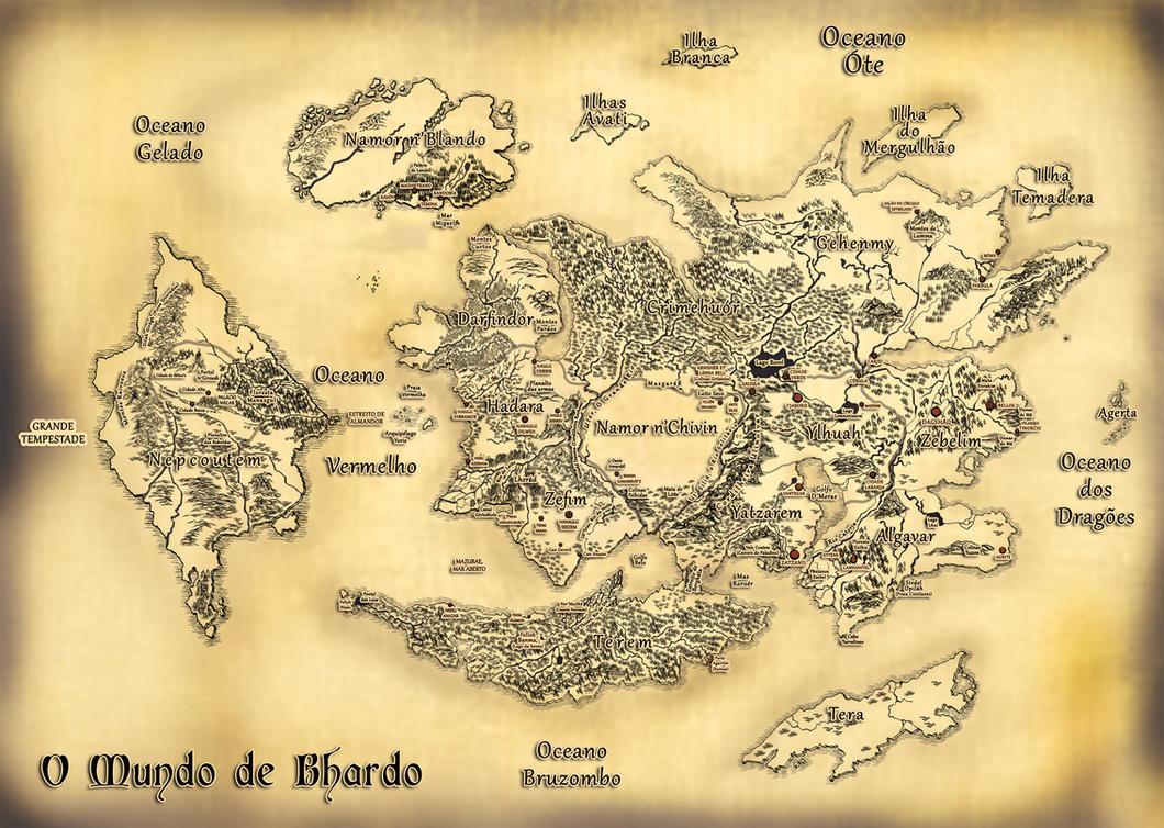 Mapa Do Mundo Completo by Livia-Stocco