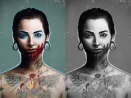 bloody by VitalikAlkarev