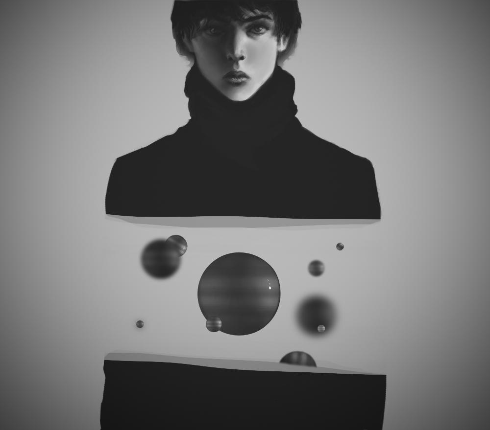 universe by VitalikAlkarev