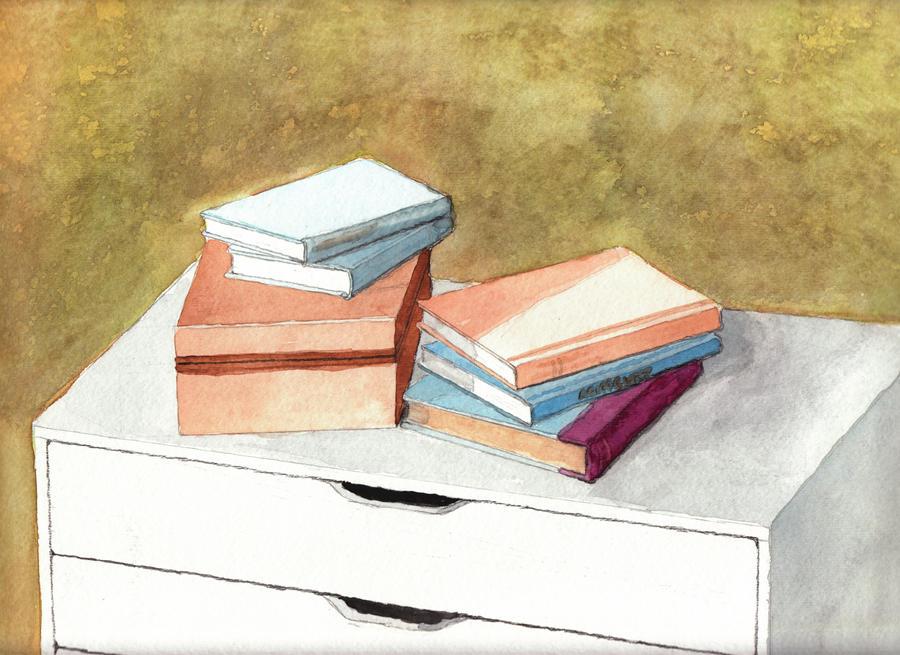 watercolor books by DrawingsByTony on DeviantArt
