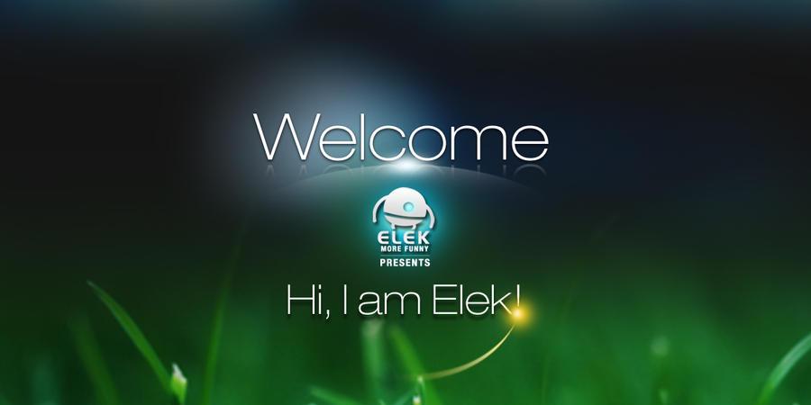 Welcome by ElekChen
