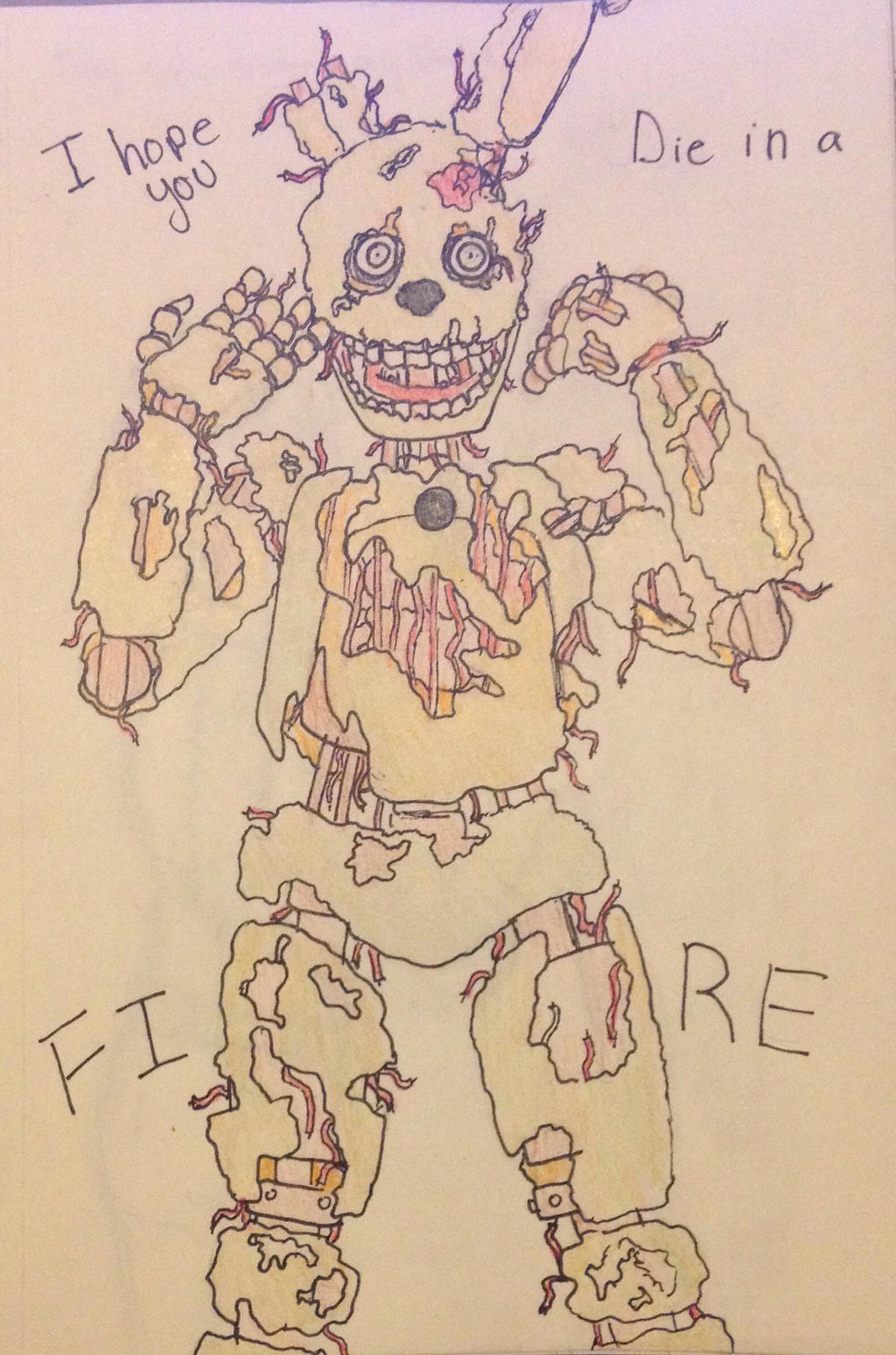 Spring trap (colored) by Sketch-Artist-4ever