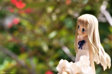 Menma in the Garden by shigeru-chan