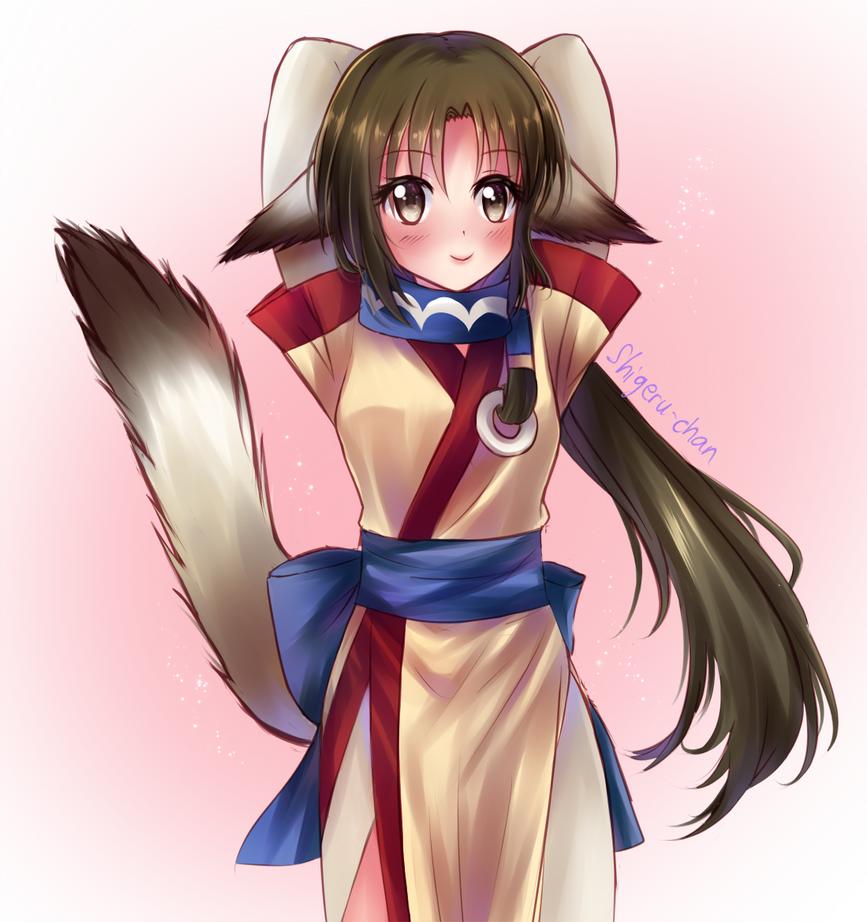 Erurru Utawarerumono by shigeru-chan