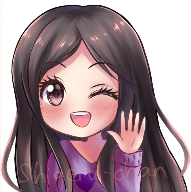 Commission MochiMio twitch icon 3 by shigeru-chan