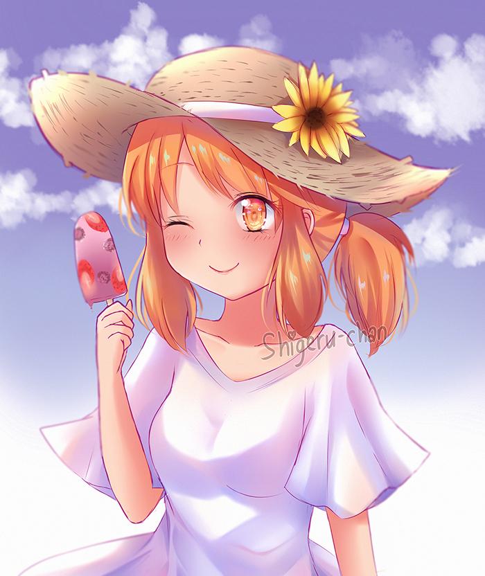 Cream-chan by shigeru-chan