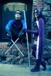 The Huntress and Nightwing