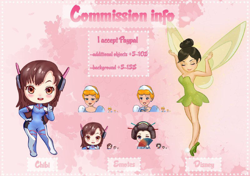 Commission are Open!