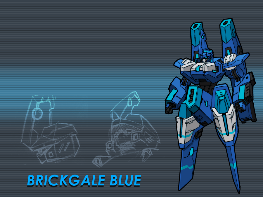 Brickgale BLUE Fanart contest by Rom-Stol