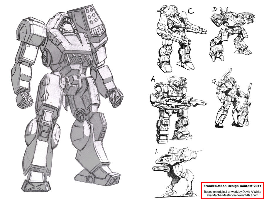 FrankenMech Design Contest by Rom-Stol